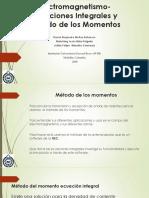Electromagnetismo método de los momentos (3)