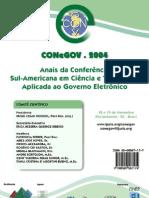 Anais CONeGOV 2004