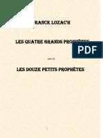 La Bible Isaïe Jérémie Ezéquiel Daniel Les 12 Petits Prophètes 1261 Pages