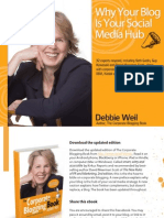 Debbie Weil - Why Your Blog is Your Social Media Hub