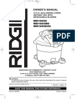 Ridgid Vac WD16650
