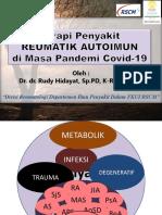 Penatalaksanaan Terapi Auto- immune Diseases di Era  Pandemi