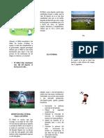 EL FUTBOL folleto