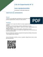 Análisis de un Experimento Nº 2. Lineas equipotenciales(1)