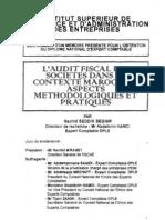 L'Audit fiscal des sociétés dans le contexte marocain