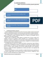 Tema 7 el proceso de coaching aspectos generales