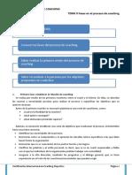 Tema 9 fases en el proceso de coaching