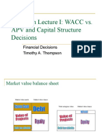 Valuation Lecture I