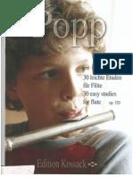 Popp_30_leichte_Etuden
