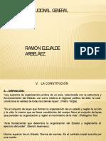 DIAPOSITIVAS DERECHO CONSTITUCIONAL ACTUALI-EXPOSICION