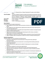 PH-PHR 212 Dispensing 1 Course Outline and Syllabus FS 2020-2021