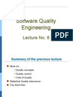 Software Quality Engineering Lec 8