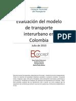 Evaluacion Del Sistema Interurbano en Colombia - Estudio Dr. Juan Carlos Echeverry_637181559889334111