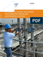 Energy Efficiency in Municipal Water and WW