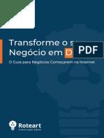 Transforme o seu negócio em digital
