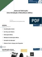 Novas Fronteiras da Fabricação_ Uma Introdução à Manufatura Aditiva