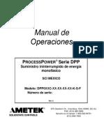 Manual Op UPS