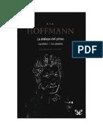 Hoffmann E T A - La Atalaya Del Primo