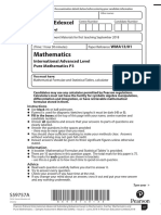 [NEW SPECIFICATION] Pure Mathematics 3 Sample Assessment Material