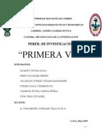 PERFIL DE INVESTIGACION PRIMERA VEZ