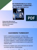 Prezentacja - Gazomierz Turbinowy - New