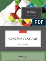 5º ano - Português - Revisão 3º Bimestre