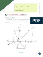 TRATAMENTO ALGEBRICO DE VECTORES
