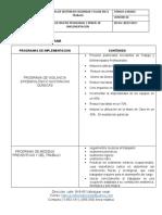 LISTADO DE PROGRAMAS Y ORDEN DE IMPLEMENTACION  REFLEJOS DEL CESAR FINAL 1