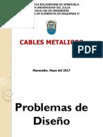 Problema Diseño Cables Metalicos