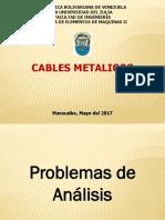Problema Analisis Cables Metalicos