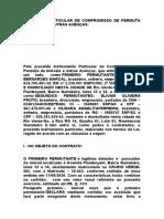 CONTRATO PARTICULAR DE COMPROMISSO DE PERMUTA DE IMÓVEIS E OUTRAS AVENÇAS-EBRTON
