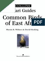 Common Birds of East Africa - 1996