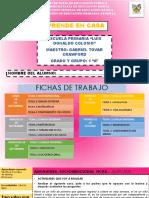 FICHAS DE TRABAJO DE PRIMER GRADO DE PRIMARIA