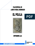 PLAN ESPECIAL HABITAT RURAL EL POLILLA.JEREZ