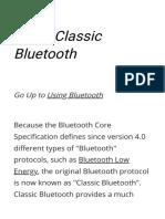 Using Classic Bluetooth - RAD Studio
