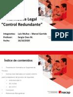 Normativas Legales CONTROL REDUNDANTE