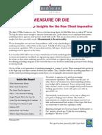 Beringer Report - Measure or Die