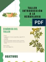 taller herbolaria presentación