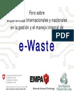 COMO DESARROLLAR UN PROGRAMA DE RESIDUOS ELECTRICOS ISO