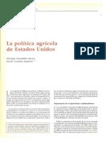 Gavaldon y Enriquez la política agrícola de EEUU