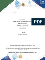 Fase 2 Analizar la administración de las operaciones - TRABAJO GRUPAL