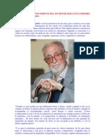 Mensaje de Jose Luis Sampedro a la Enfermería
