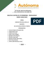 EXP. ROBO AGRAVADO