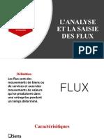 L'ANALYSE ET LA SAISIE DES FLUX