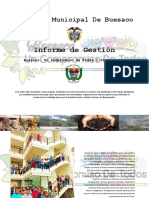 Informe de gestion 2016 -2019