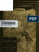 Tony Alexander Practical Hunters & Trappers Guide
