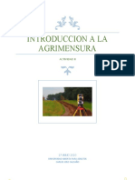 TAREA II AGRIMENSURA
