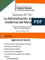10053236_sesion 01 La Administracion y Enfoques Modernos Del Managment
