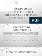 EXPOSICION DE TEORIA CONSTITUCIONAL