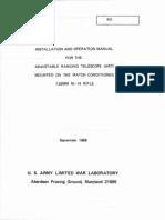 Art II scope for M14 Manual (1968)
